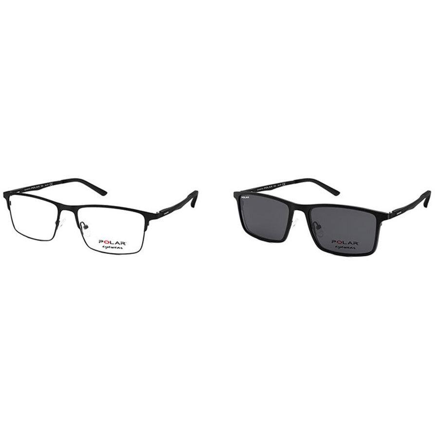 Rame ochelari de vedere barbati Polar CLIP-ON 409 | 76 Clip-on originale cu comanda online