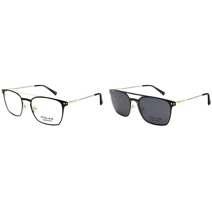 Rame ochelari de vedere barbati Polar CLIP-ON 412   78 Patrate originale cu comanda online