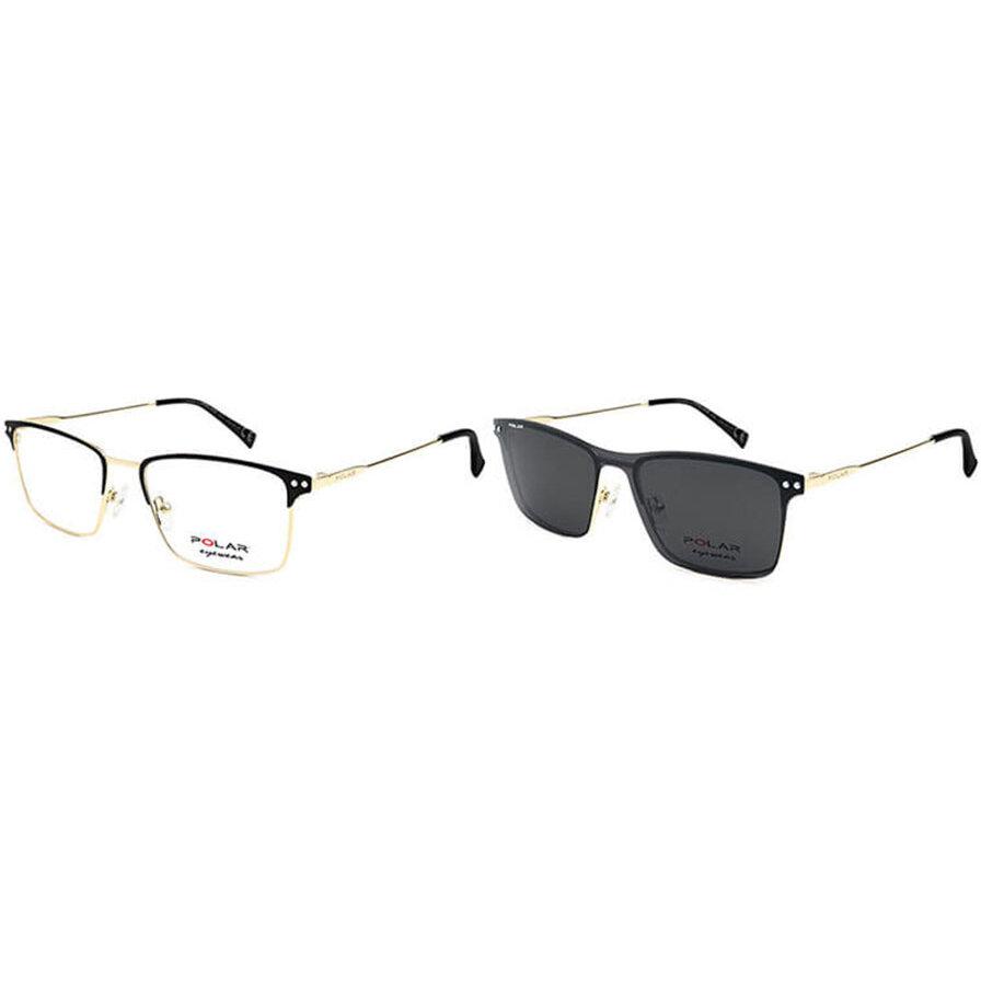 Rame ochelari de vedere barbati Polar CLIP-ON 413   78 Rectangulare originale cu comanda online