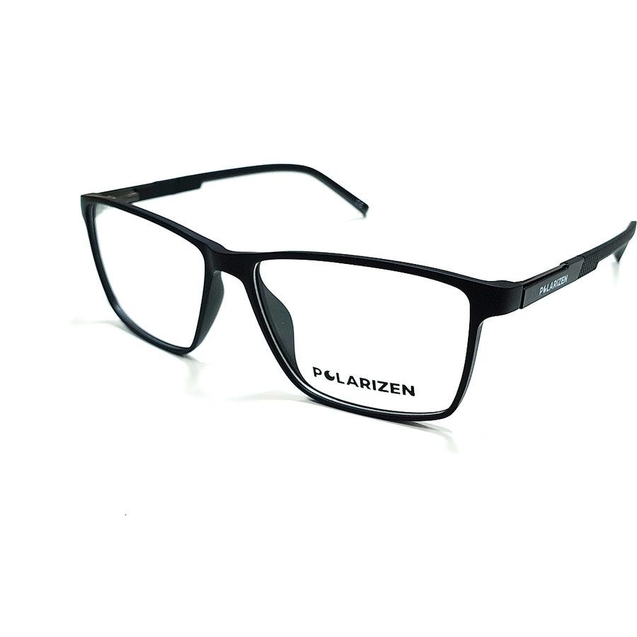 Rame ochelari de vedere barbati Polarizen 89013-C4 Rectangulare originale cu comanda online