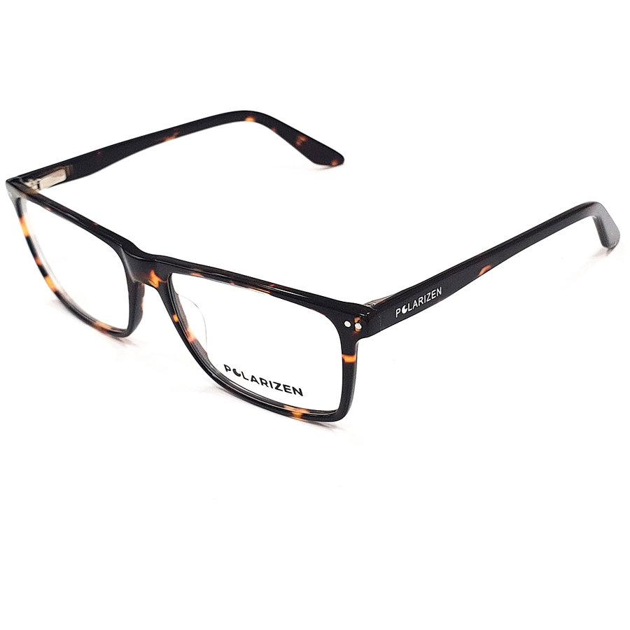 Rame ochelari de vedere barbati Polarizen WD1031-C6 Rectangulare originale cu comanda online