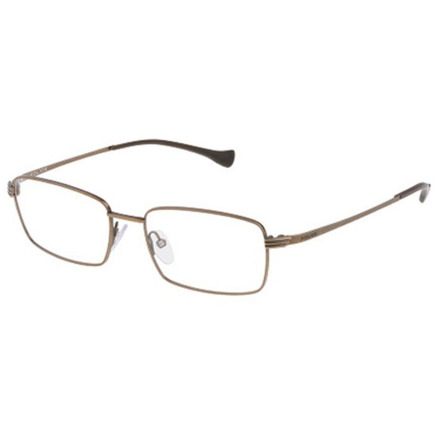 Rame ochelari de vedere barbati Police VPL067 0SNE Rectangulare originale cu comanda online