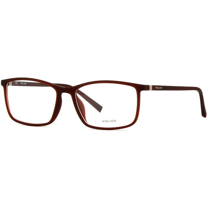 Rame ochelari de vedere barbati Police VPL255 9GWG Rectangulare originale cu comanda online