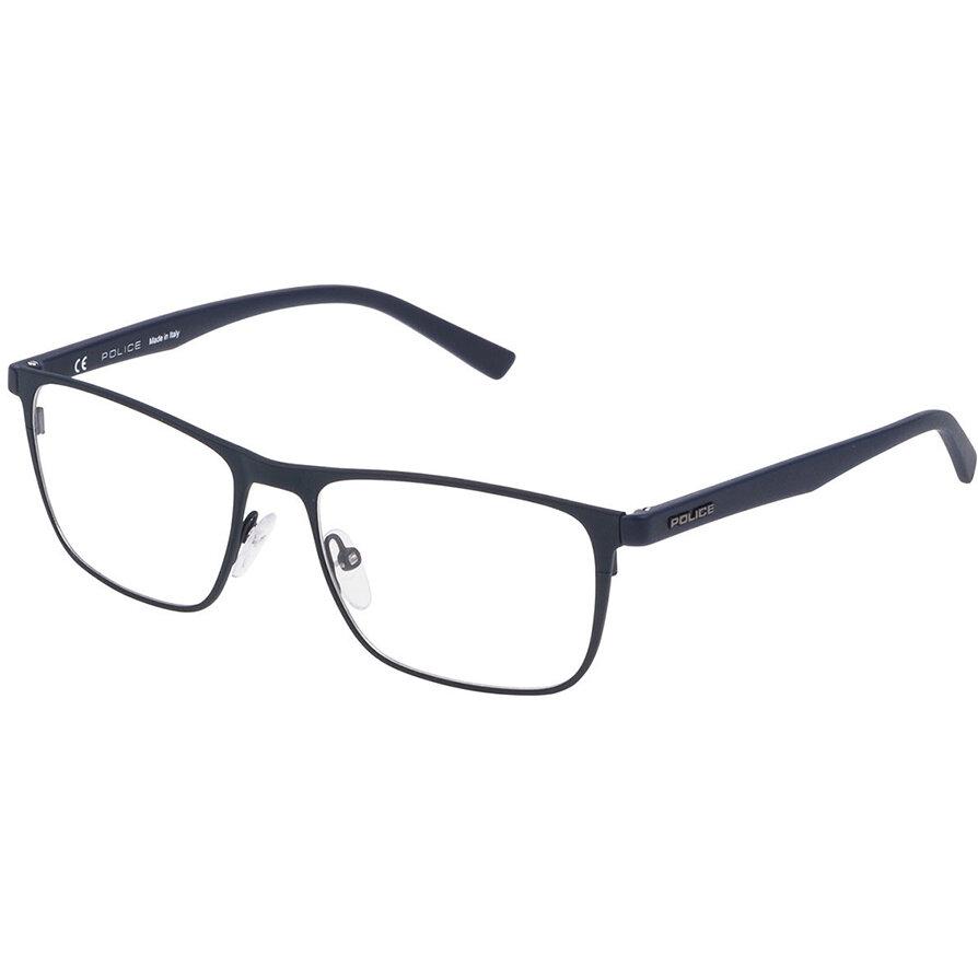 Rame ochelari de vedere barbati Police VPL256 0C07 Rectangulare originale cu comanda online