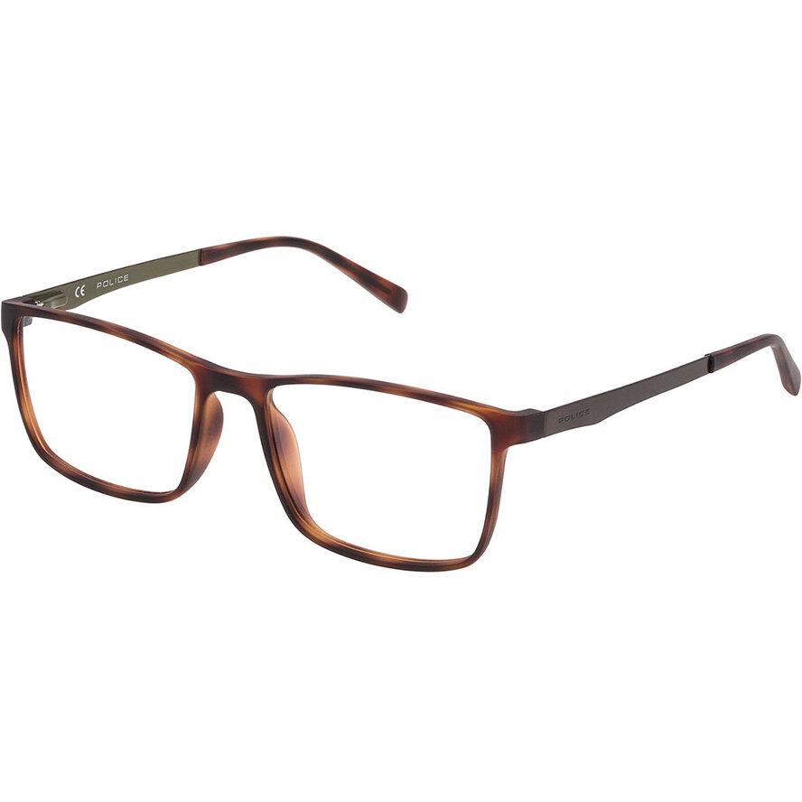 Rame ochelari de vedere barbati Police VPL258 0V50 Rectangulare originale cu comanda online