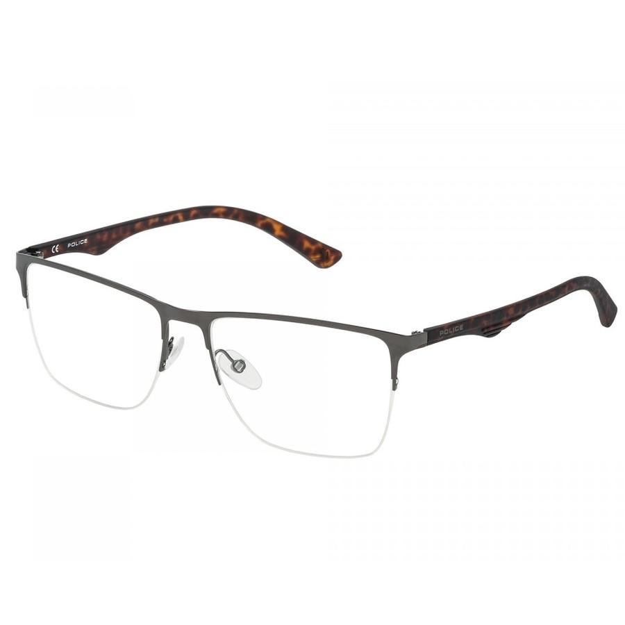 Rame ochelari de vedere barbati Police VPL398 0568 Rectangulare originale cu comanda online