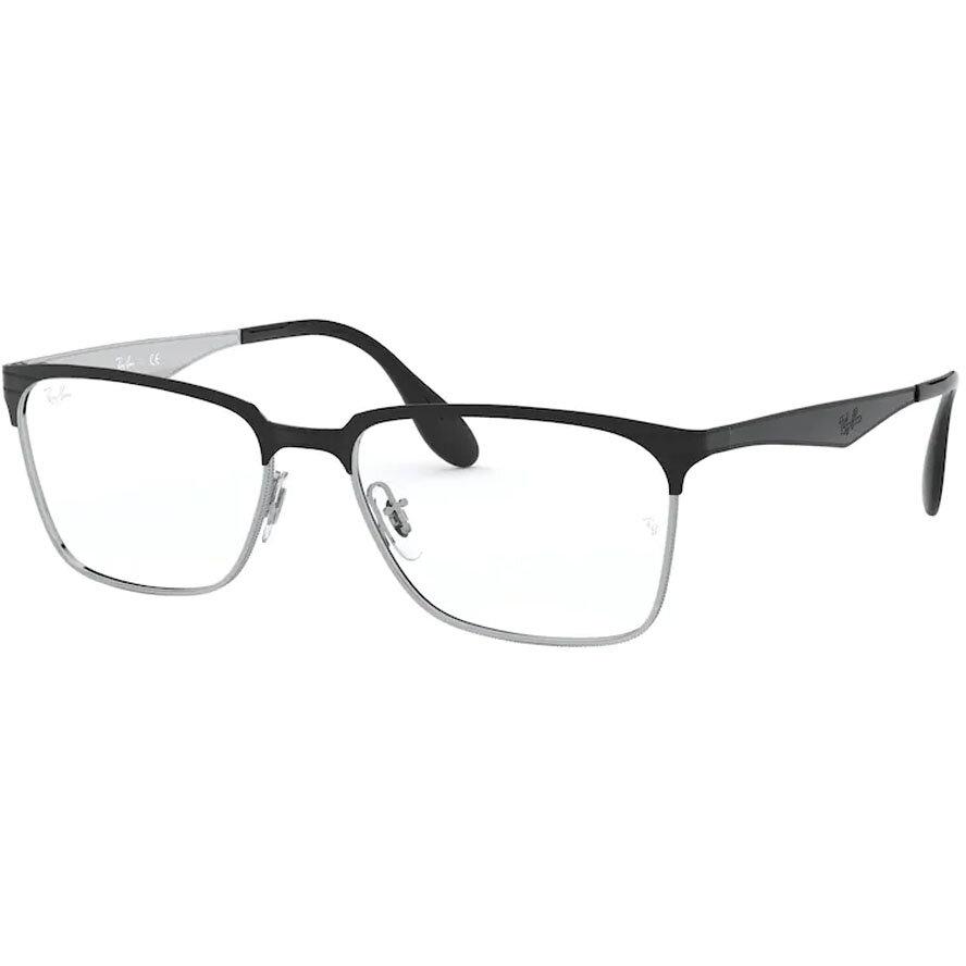 Rame ochelari de vedere barbati Ray-Ban RX6344 2861 Patrate originale cu comanda online