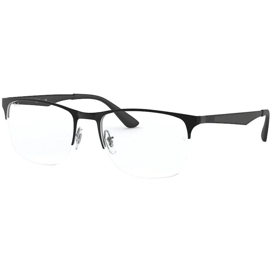 Rame ochelari de vedere barbati Ray-Ban RX6362 2861 Patrate originale cu comanda online