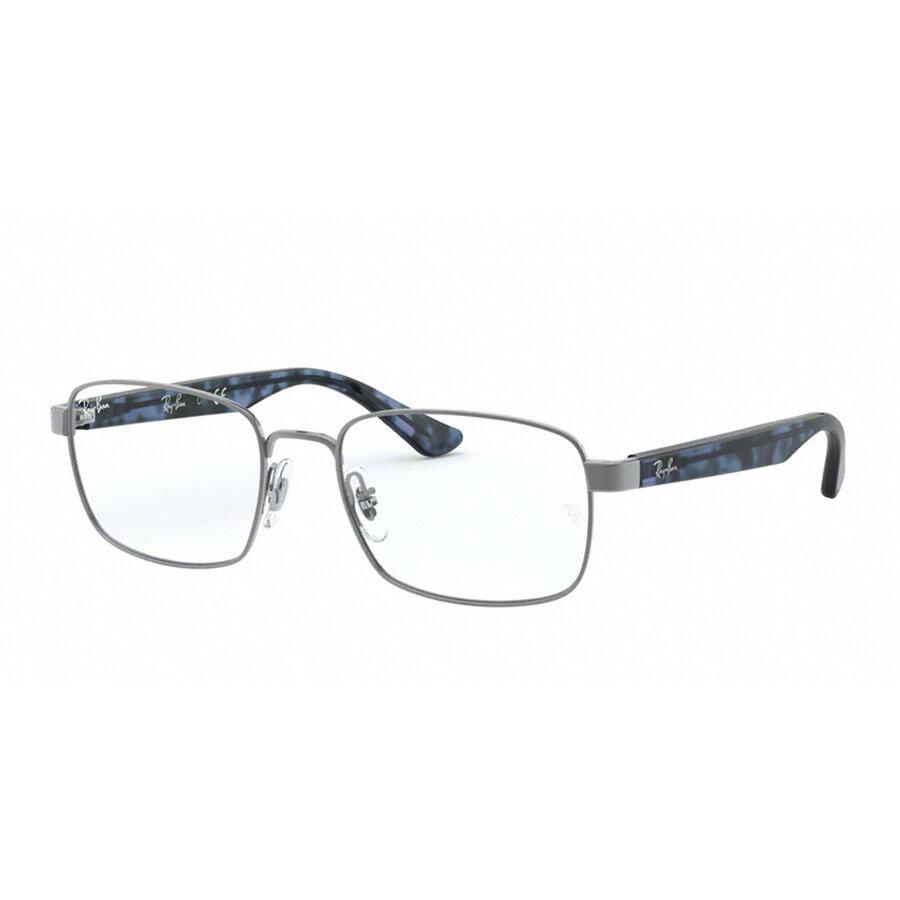 Rame ochelari de vedere barbati Ray-Ban RX6445 2502 Rectangulare originale cu comanda online