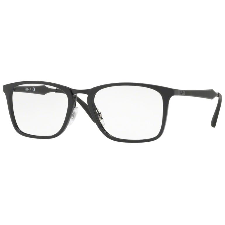 Rame ochelari de vedere barbati Ray-Ban RX7131 2000 Patrate originale cu comanda online