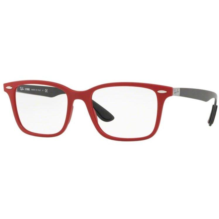 Rame ochelari de vedere barbati Ray-Ban RX7144 5772 Rectangulare originale cu comanda online