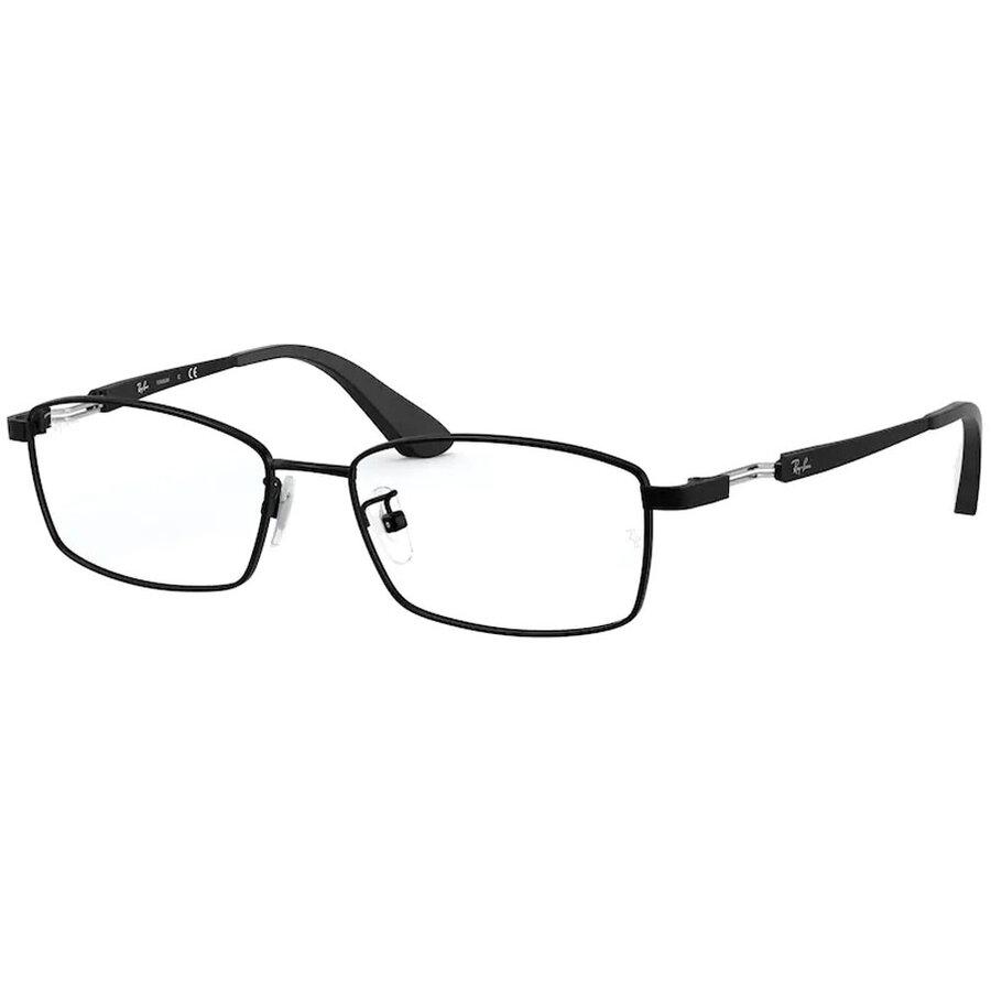 Rame ochelari de vedere barbati Ray-Ban RX8745D 1074 Rectangulare originale cu comanda online