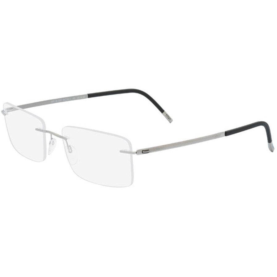 Rame ochelari de vedere barbati Silhouette 5470/60 6052 Rectangulare originale cu comanda online