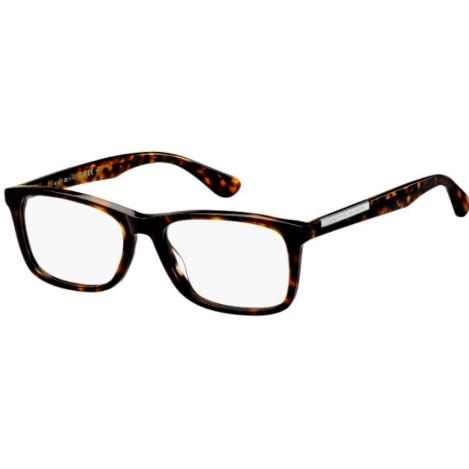Rame ochelari de vedere barbati TOMMY HILFIGER TH 1595 086 DKHAVANA D Rectangulare originale cu comanda online