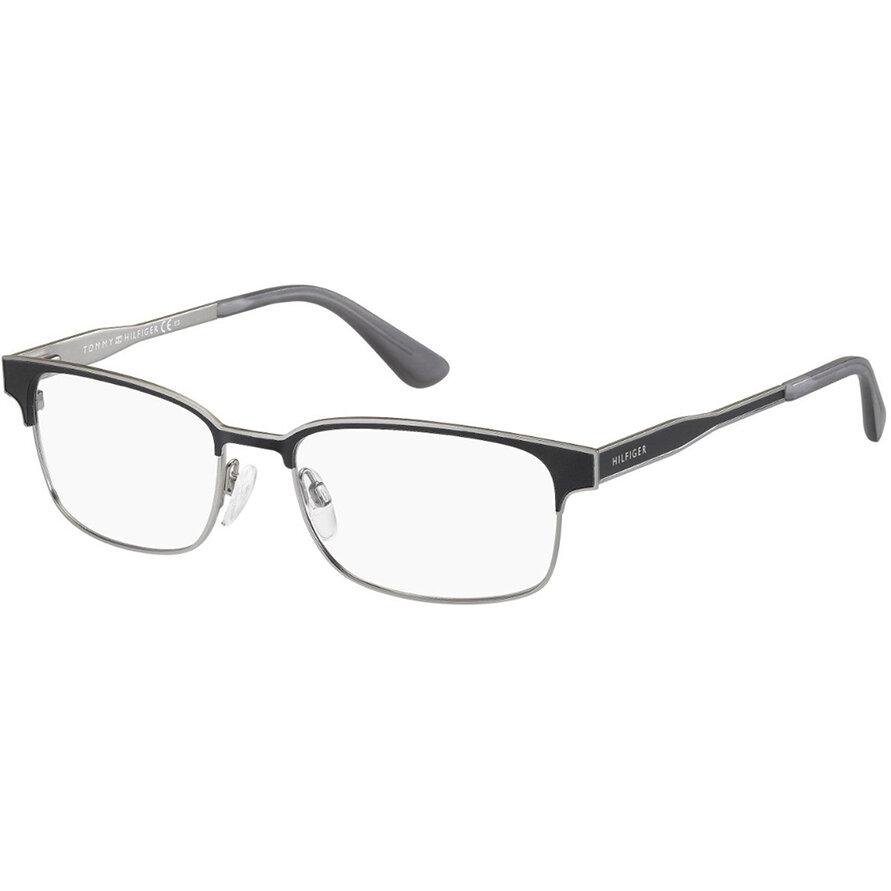 Rame ochelari de vedere barbati TOMMY HILFIGER TH1357 P5Q Rectangulare originale cu comanda online
