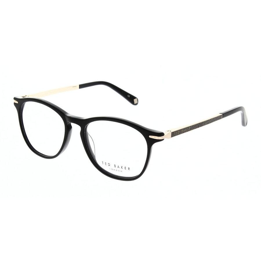 Rame ochelari de vedere barbati Ted Baker TB8160 001 Ovale originale cu comanda online