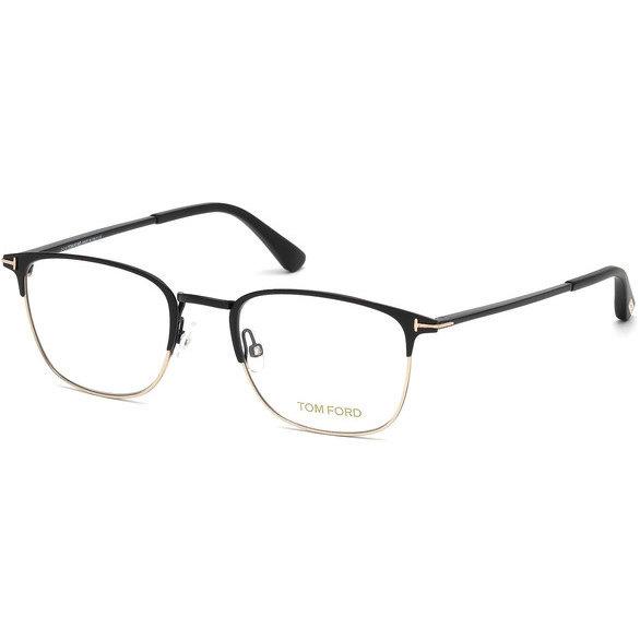 Rame ochelari de vedere barbati Tom Ford FT5453 002 Rectangulare originale cu comanda online