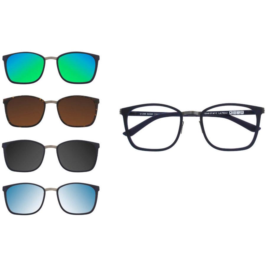 Rame ochelari de vedere barbati clip-on THEMA U-246 M04 Clip-on originale cu comanda online
