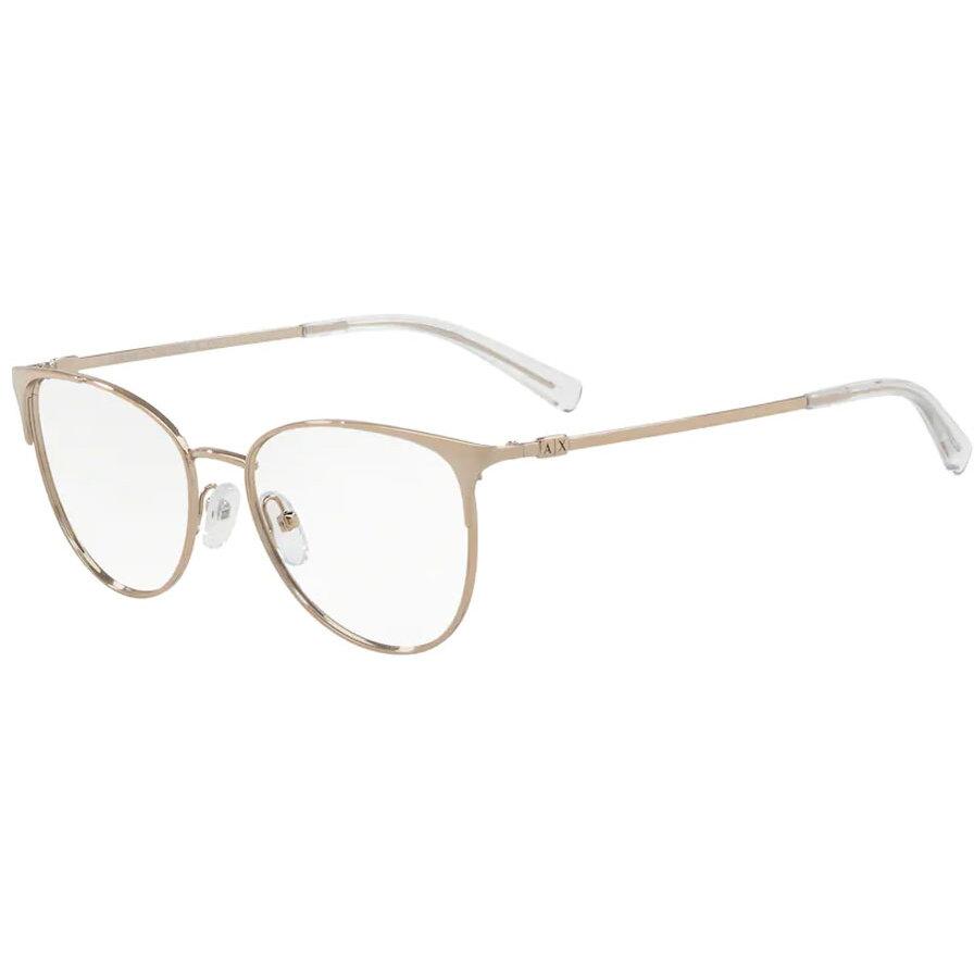 Rame ochelari de vedere dama Armani Exchange AX1034 6103 Ochi de pisica originale cu comanda online