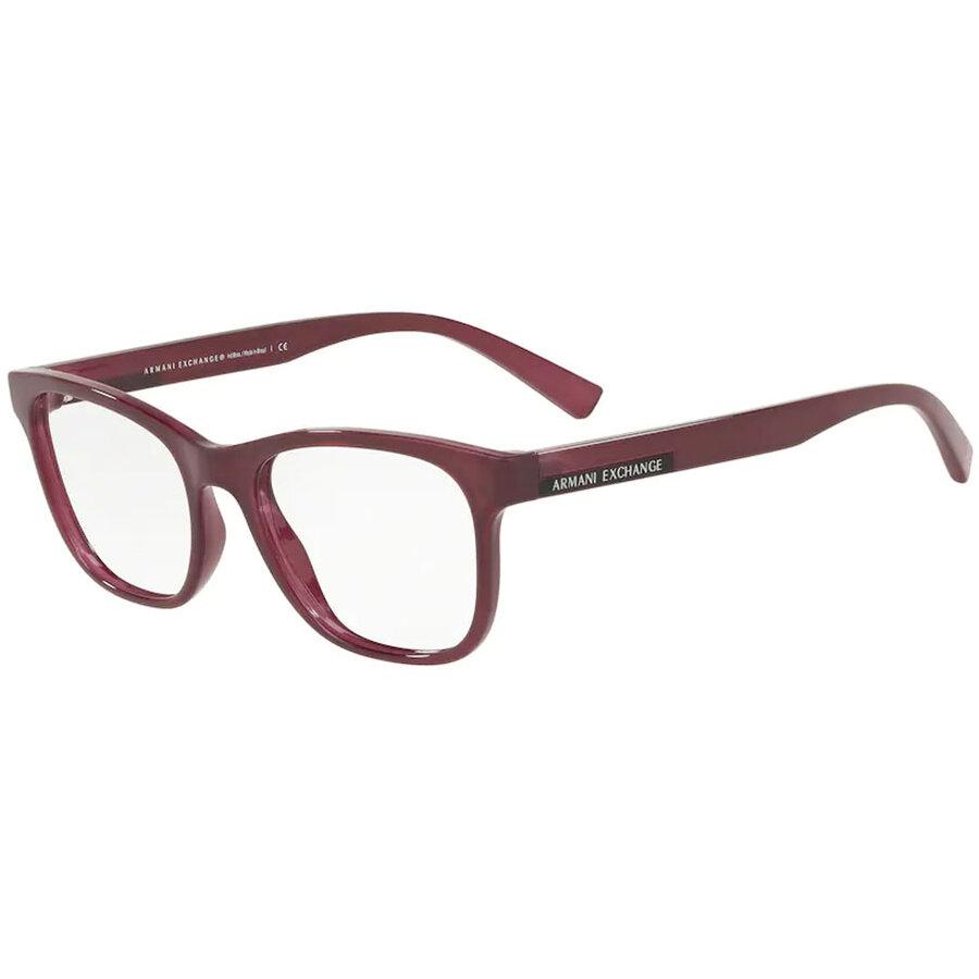Rame ochelari de vedere dama Armani Exchange AX3057 8276 Patrate originale cu comanda online