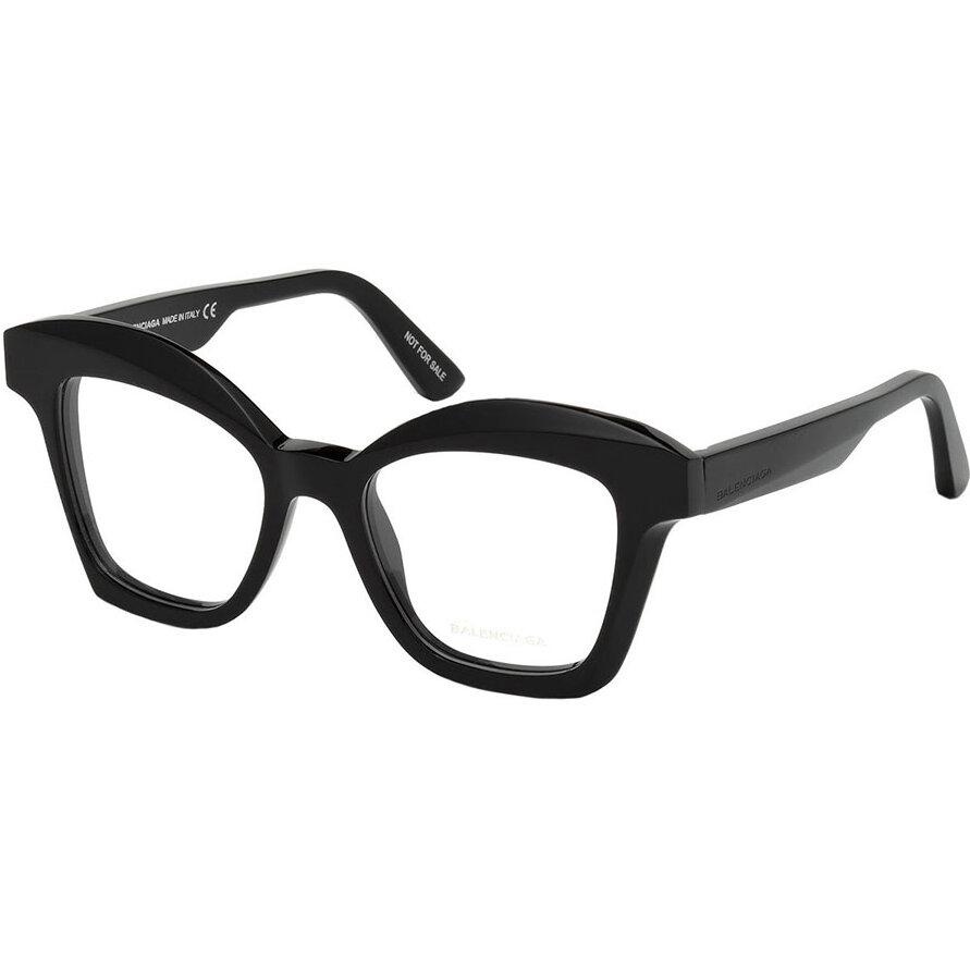 Rame ochelari de vedere dama Balenciaga BA5081 001 Patrate originale cu comanda online