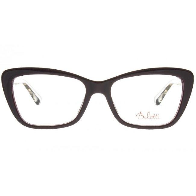 Rame ochelari de vedere dama Belutti BLP0041 C1 Ochi de pisica originale cu comanda online