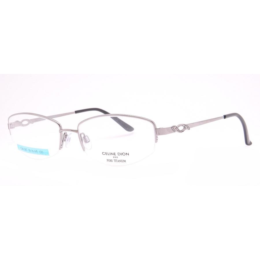 Rame ochelari de vedere dama Celine Dion CD8105T C01 Ovale originale cu comanda online