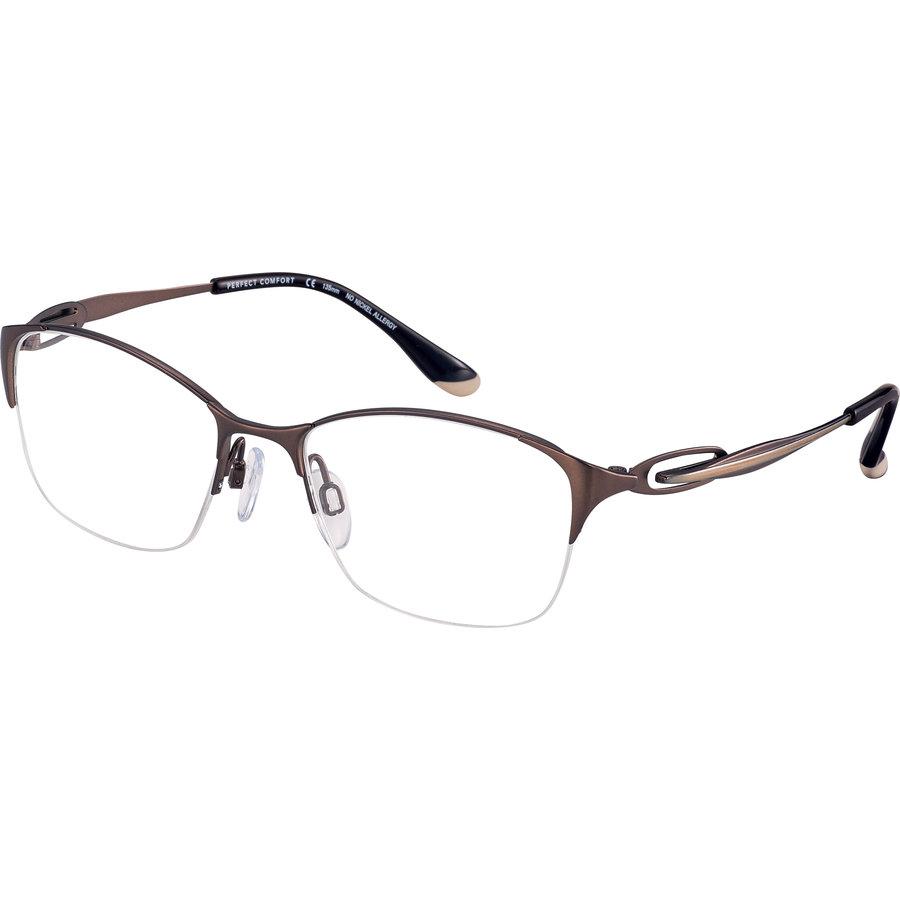 Rame ochelari de vedere dama Charmant CH10615 BR Ovale originale cu comanda online