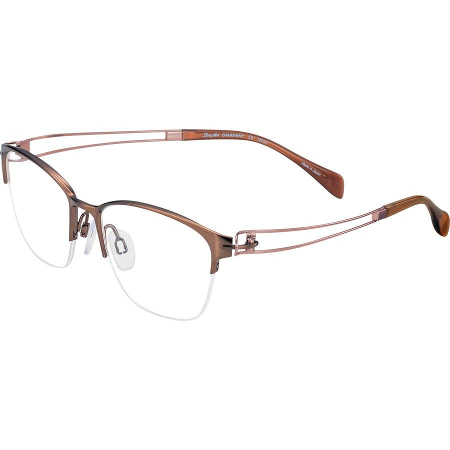 Rame ochelari de vedere dama Charmant Line Art XL2114 BR Ovale originale cu comanda online