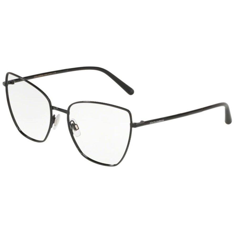 Rame ochelari de vedere dama Dolce & Gabbana 0DG1314 01 Fluture originale cu comanda online