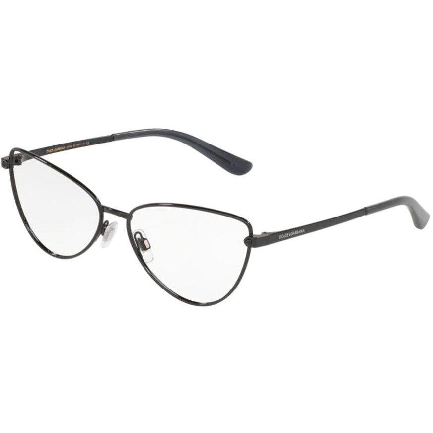 Rame ochelari de vedere dama Dolce & Gabbana 0DG1321 01 Ochi de pisica originale cu comanda online