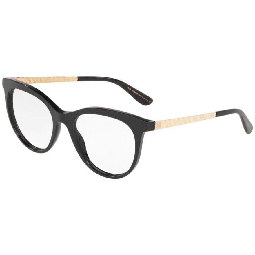 Rame ochelari de vedere dama Dolce & Gabbana 0DG3316 501 Ochi de pisica originale cu comanda online