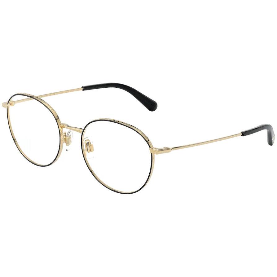 Rame ochelari de vedere dama Dolce & Gabbana DG1322 1334 Rotunde originale cu comanda online