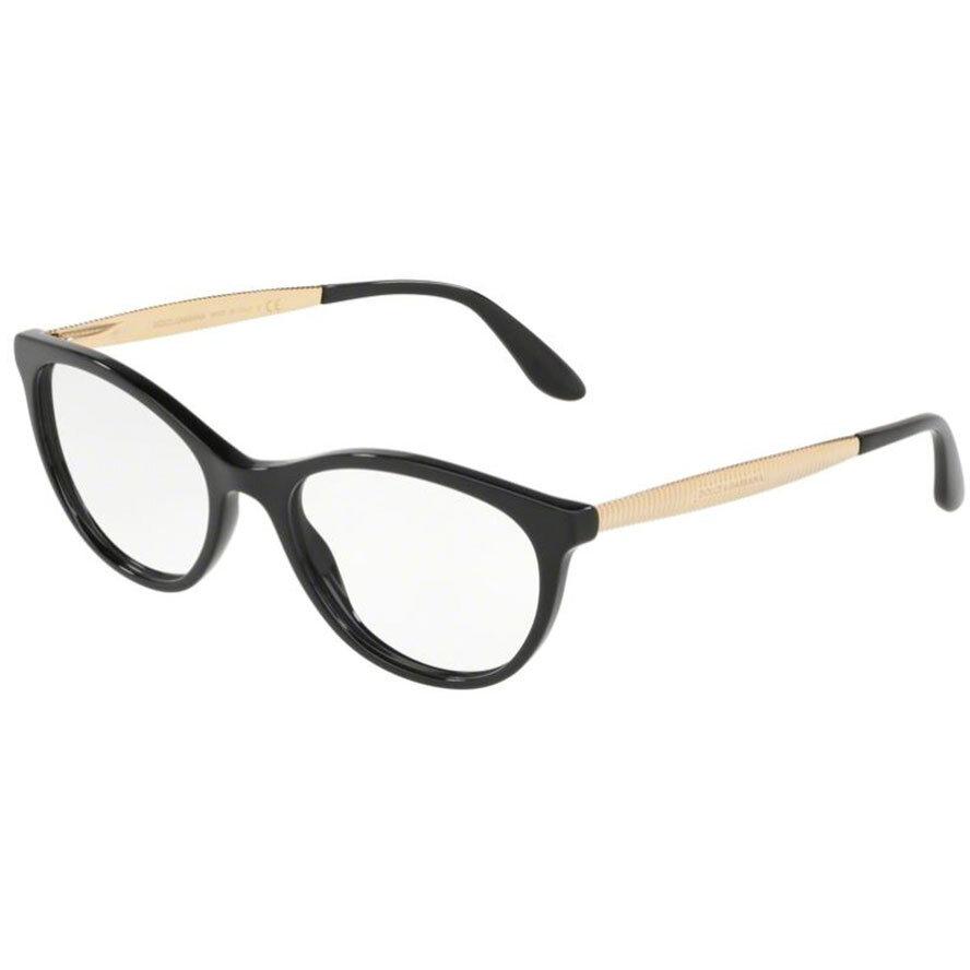 Rame ochelari de vedere dama Dolce & Gabbana DG3310 501 Ochi de pisica originale cu comanda online