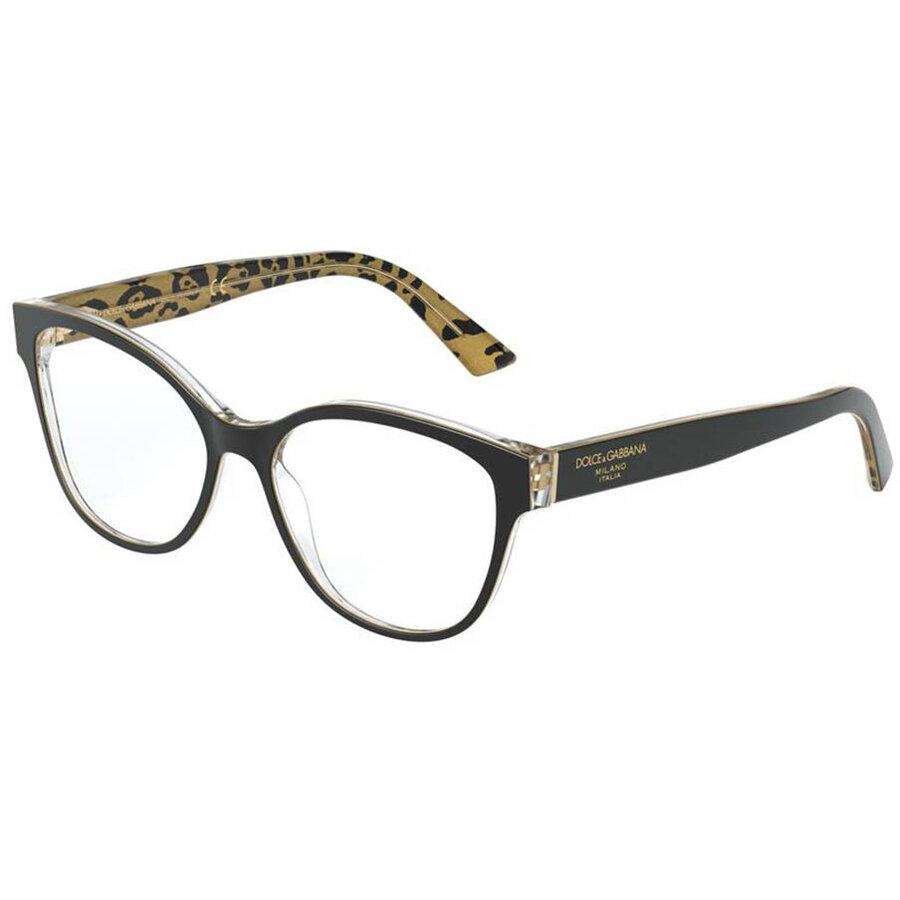 Rame ochelari de vedere dama Dolce & Gabbana DG3322 3235 Fluture originale cu comanda online