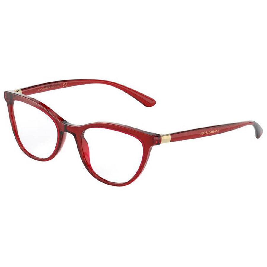 Rame ochelari de vedere dama Dolce & Gabbana DG3324 550 Fluture originale cu comanda online
