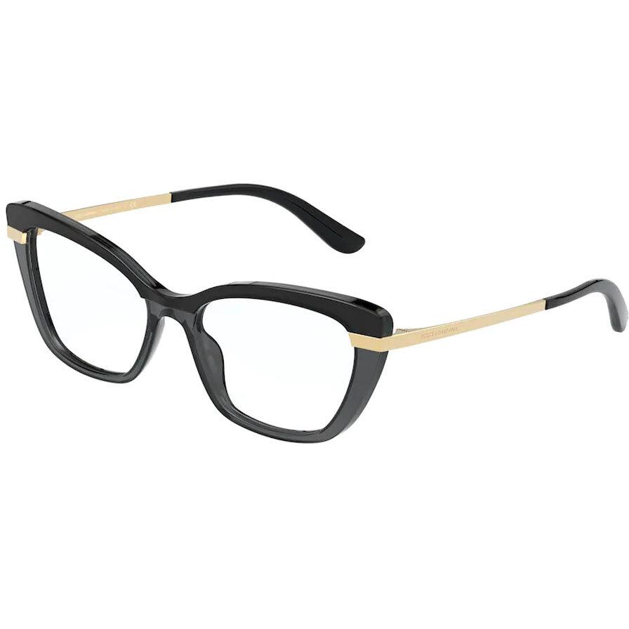 Rame ochelari de vedere dama Dolce & Gabbana DG3325 3246 Ochi de pisica originale cu comanda online