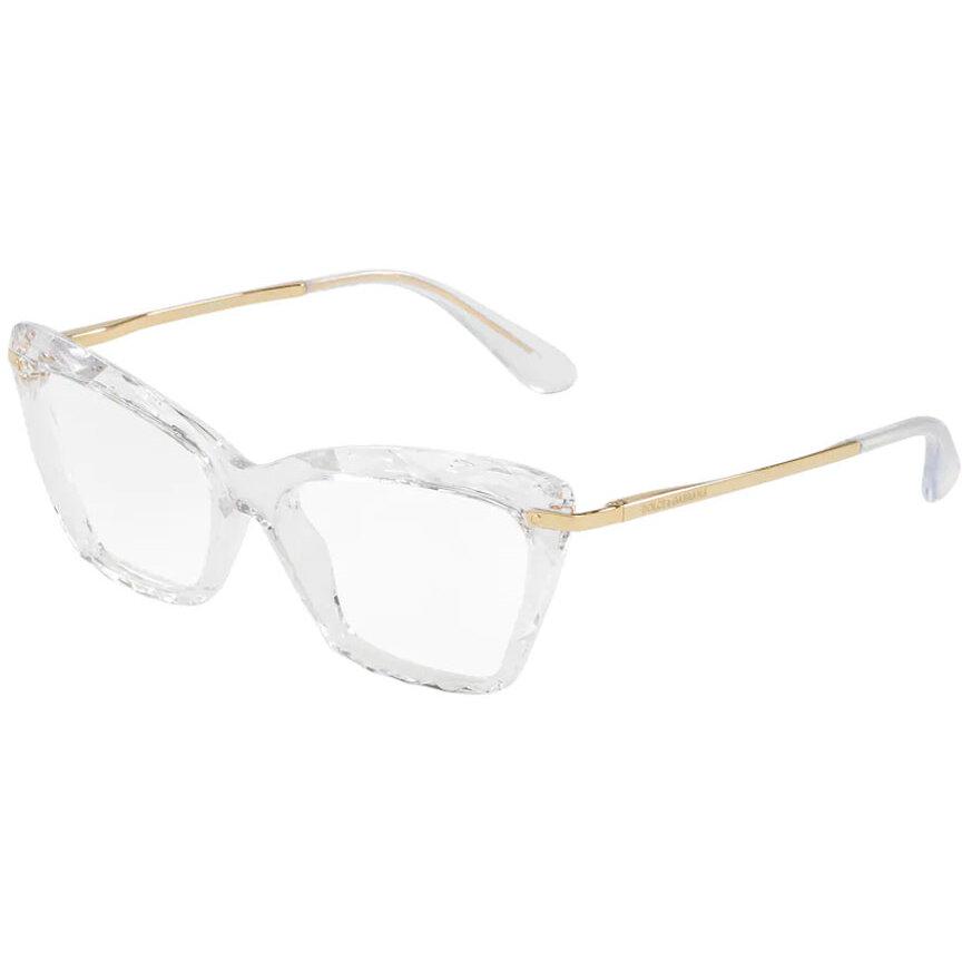 Rame ochelari de vedere dama Dolce & Gabbana DG5025 3133 Ochi de pisica originale cu comanda online