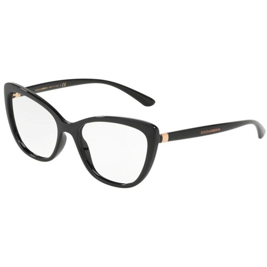 Rame ochelari de vedere dama Dolce & Gabbana DG5039 501 Ochi de pisica originale cu comanda online