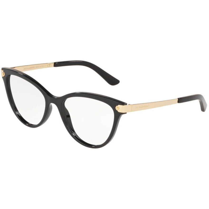 Rame ochelari de vedere dama Dolce & Gabbana DG5042 501 Ochi de pisica originale cu comanda online