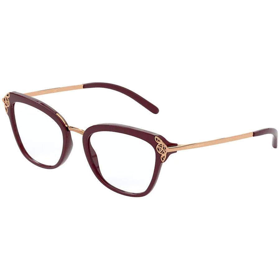 Rame ochelari de vedere dama Dolce & Gabbana DG5052 3091 Fluture originale cu comanda online