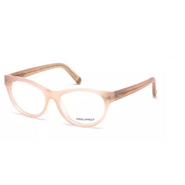 Rame ochelari de vedere dama Dsquared DQ5142 072 Rectangulare originale cu comanda online