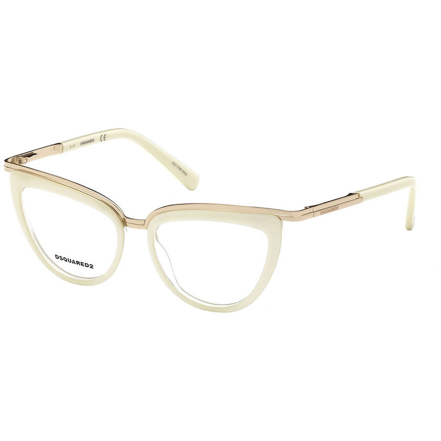Rame ochelari de vedere dama Dsquared DQ5238 025 Ochi de pisica originale cu comanda online
