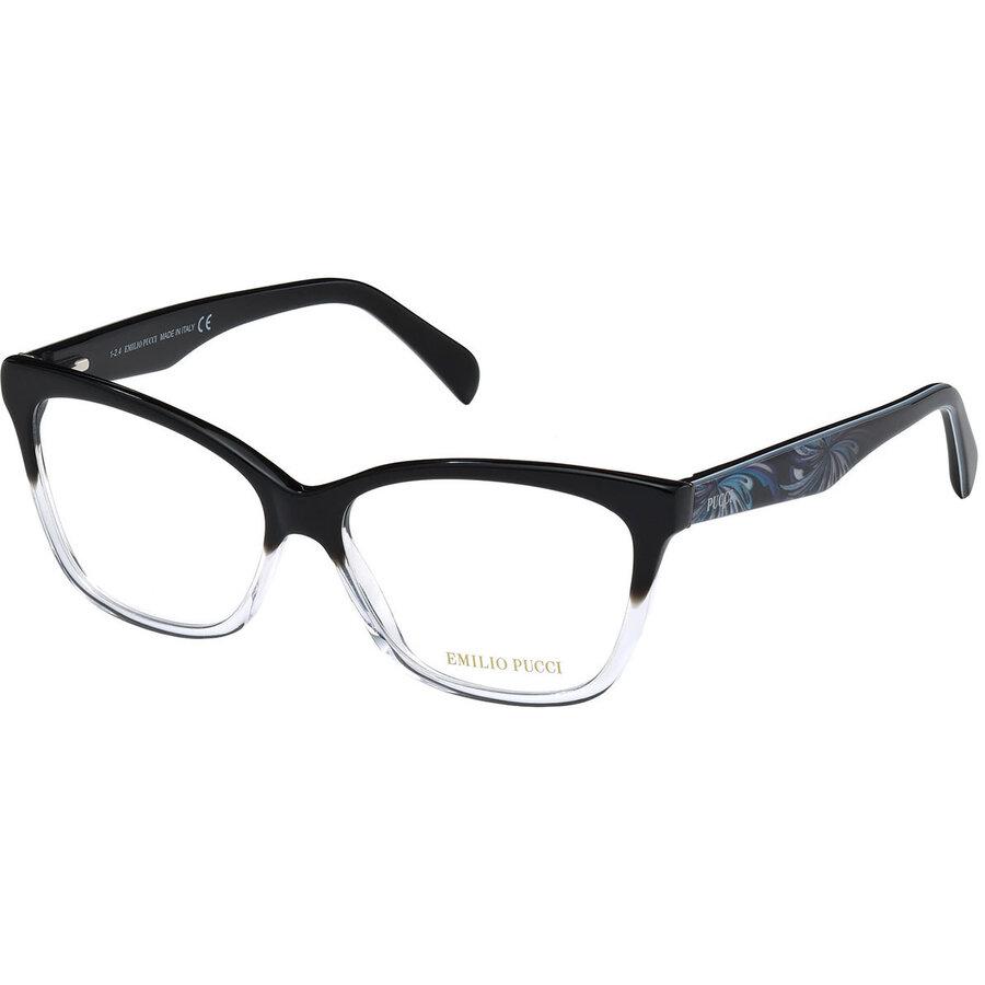 Rame ochelari de vedere dama Emilio Pucci EP5014 003 Ochi de pisica originale cu comanda online