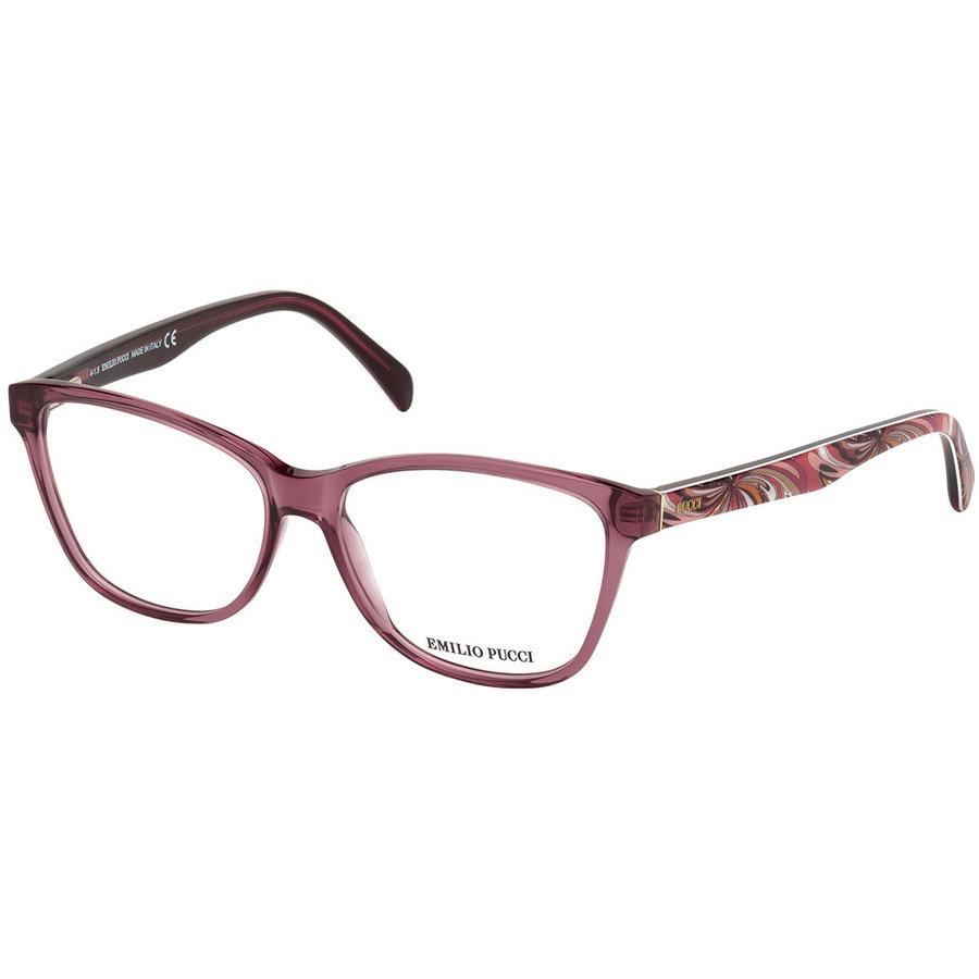 Rame ochelari de vedere dama Emilio Pucci EP5024 081 Ochi de pisica originale cu comanda online