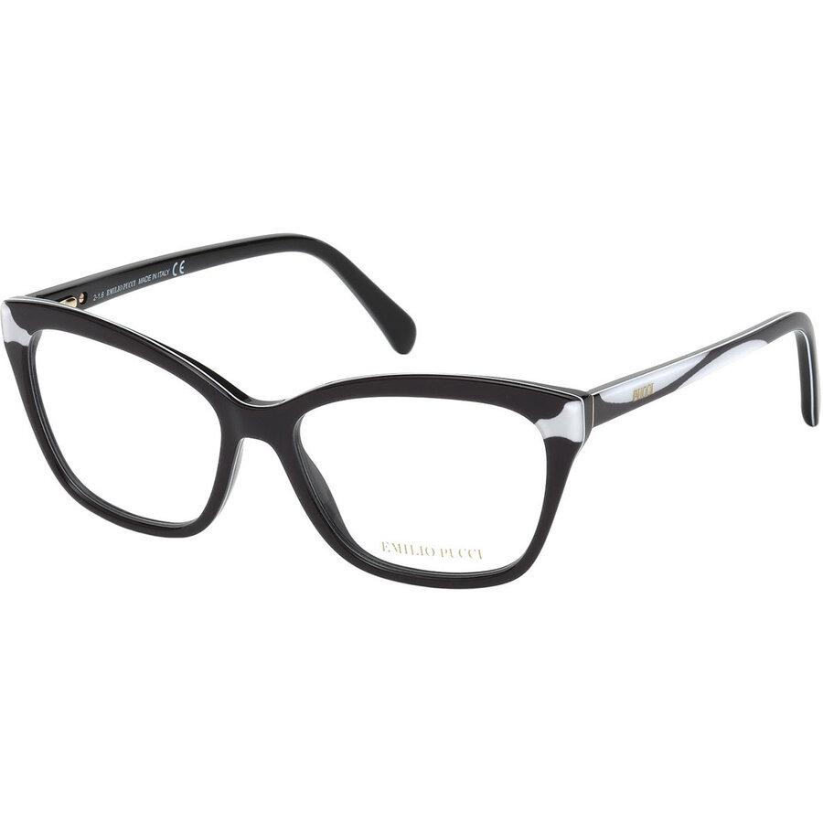 Rame ochelari de vedere dama Emilio Pucci EP5049 004 Ochi de pisica originale cu comanda online