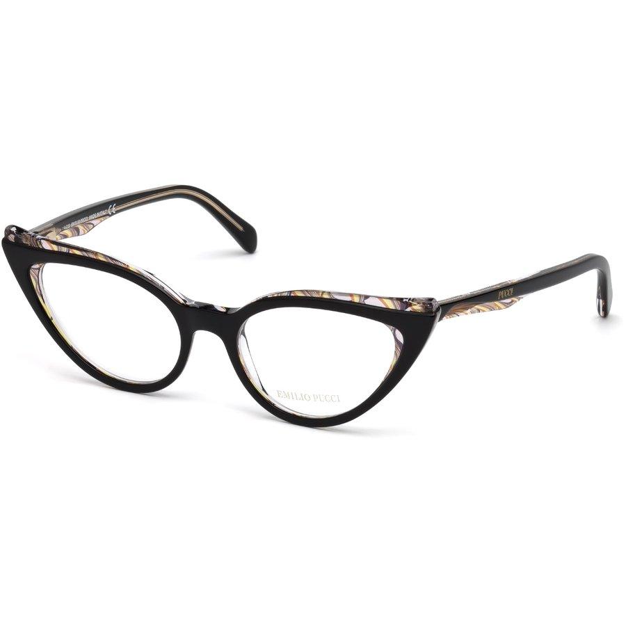Rame ochelari de vedere dama Emilio Pucci EP5051 005 Ochi de pisica originale cu comanda online
