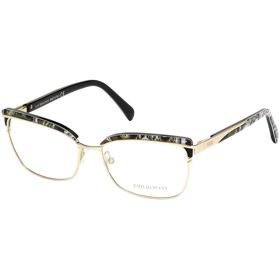 Rame ochelari de vedere dama Emilio Pucci EP5056 032 Browline originale cu comanda online