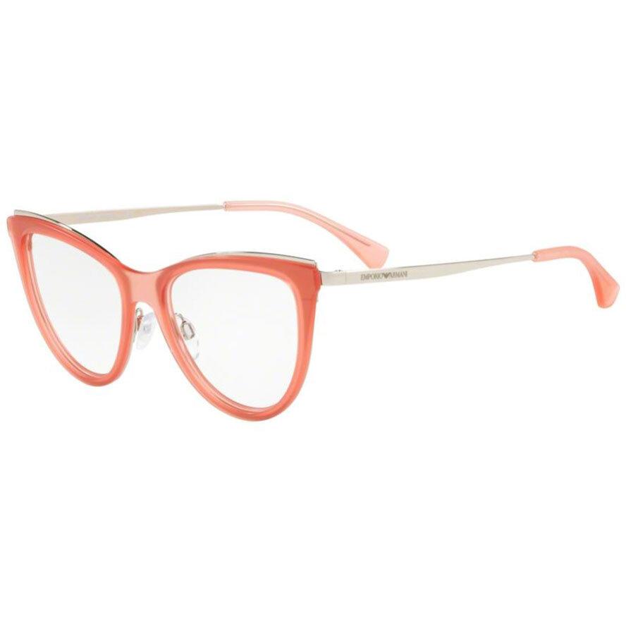 Rame ochelari de vedere dama Emporio Armani EA1074 3216 Ochi de pisica originale cu comanda online