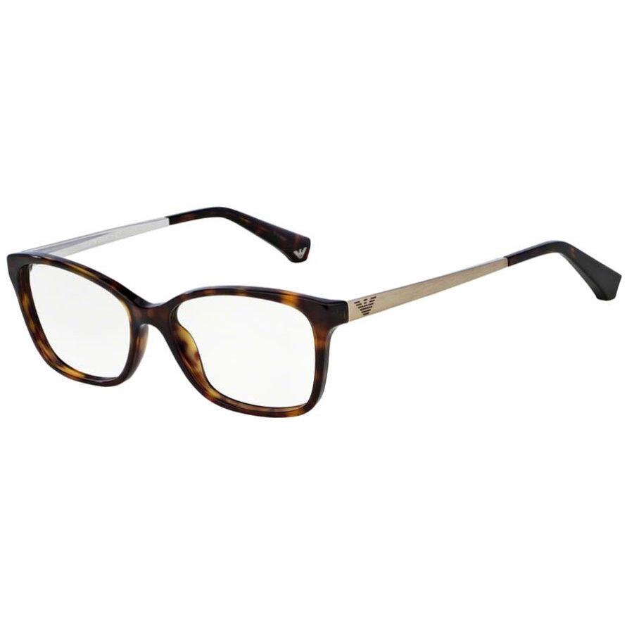 Rame ochelari de vedere dama Emporio Armani EA3026 5026 Ochi de pisica originale cu comanda online